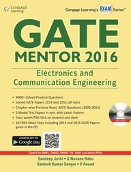 Gate Mentor 2016: Electronics And Communication Engineering With Cd