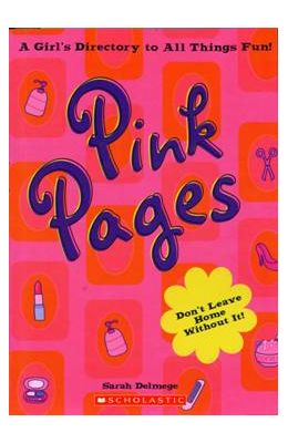 Pink Pages Girls Dictionary To All Things Fun