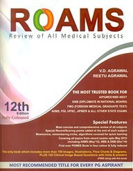 Roams Review Of All Medical Subjects : For Aipgmee Nbe / Neet - Fully Coloured