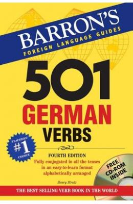 501 German Verbs [With CDROM]