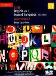 English As A Second Language Coursebook 1 : W/Cd   Igcse