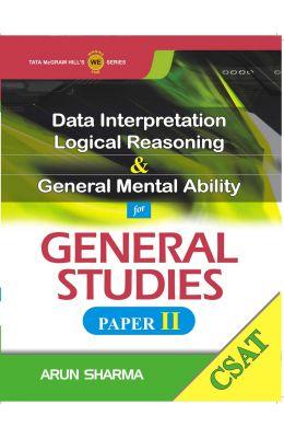 CSAT Data Interpretation Logical Reasoning and General Mental Ability for General Studies (Paper - 2) 1st Edition price comparison at Flipkart, Amazon, Crossword, Uread, Bookadda, Landmark, Homeshop18