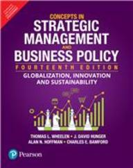 Concepts In Strategic Management & Business Policy
