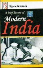 A Brief History Of Modern India (English) 17th Edition price comparison at Flipkart, Amazon, Crossword, Uread, Bookadda, Landmark, Homeshop18