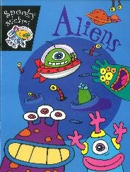 Aliens (spooky Stickers)