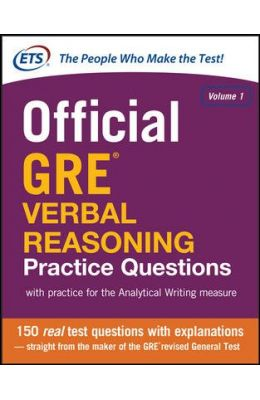 Official Gre Verbal Reasoning Practice Questions Vol 1