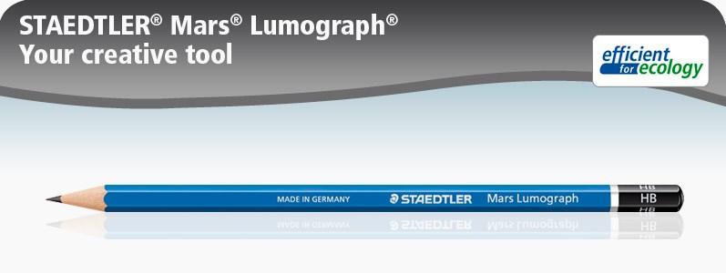 Staedtler Mars Lumograph Pencil … Hb, B,2b,3b,H,2h And F