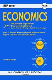Kit Of Economics For Ugc National Eligibility Test