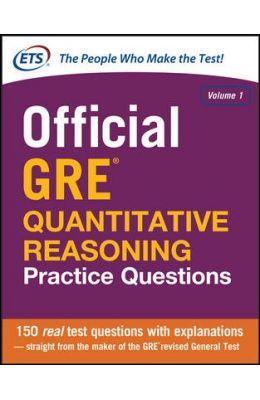 Official Gre Quantitative Reasoning Practice Qustions Vol 1