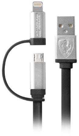 Ferrari Cable micro USB/MFI Cable