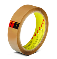 "Scotch BOPP Tape 1""x35m Tan 12TR"