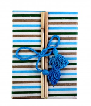 Eco Corner Double Door Exercise Book - Stripes
