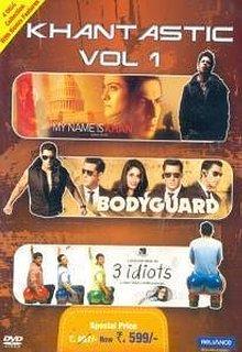 Khantastic Vol 1-Bodyguard / My Name Is Khan / 3 Idiots (3 in 1)