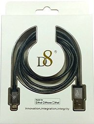 D8 Lighting Cable for iPod iPhone and iPad