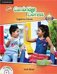 Cambridge Express English For Schools Students     Book 2 W/Cd : Cce Cbse