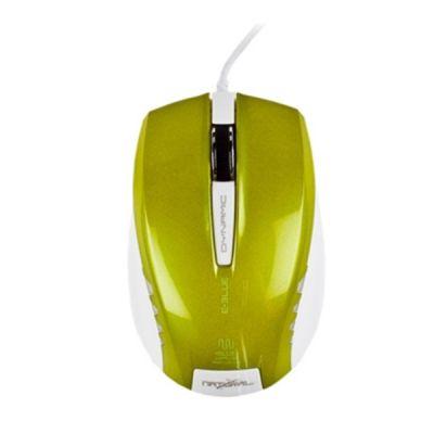 E - Blue Dynamic Series Mouse - (Green)