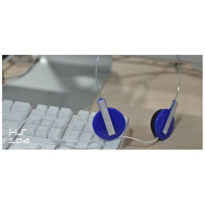 Enzatec Lightweight Premium Headphone - (Blue)