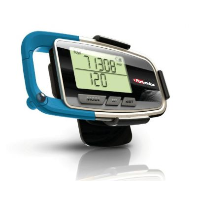 Portronics Health Key 3D Pedometer (Blue)