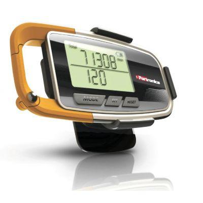 Portronics Health Key 3D Pedometer (Orange )