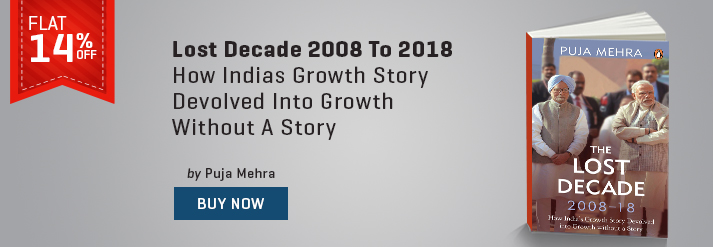 LOST DECADE 2008 TO 2018 : HOW INDIAS GROWTH STORY DEVOLVED INTO GROWTH WITHOUT A STORY