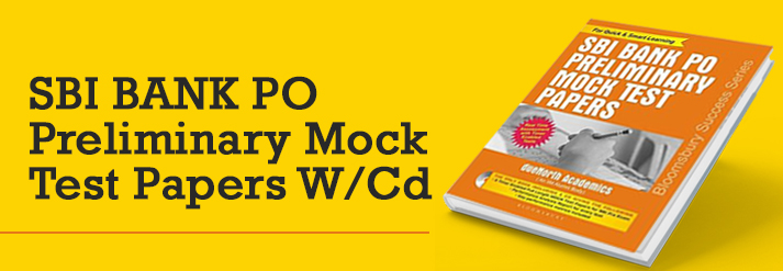 Sbi Bank Po Preliminary Mock Test Papers W/Cd