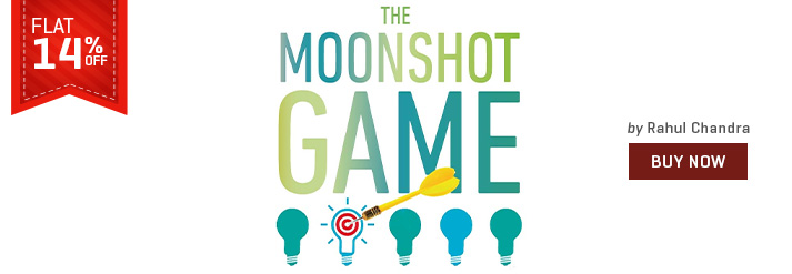 MOONSHOT GAME : ADVENTURES OF AN INDIAN VENTURE CAPITALIST