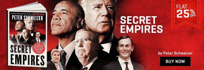 SECRET EMPIRES : HOW THE AMERICAN POLITICAL CLASS HIDES CORRUPTION & ENRICHES FAMILY & FRIENDS