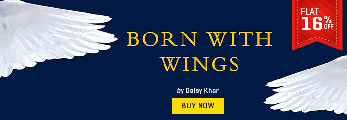 BORN WITH WINGS : THE SPIRITUAL JOURNEY OF A MODERN MUSLIM WOMAN