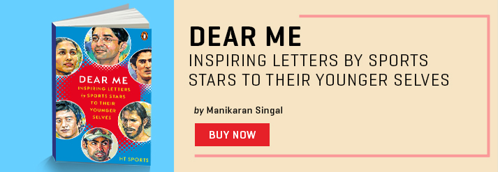 DEAR ME : INSPIRING LETTERS BY SPORTS STARS TO THEIR YOUNGER SELVES