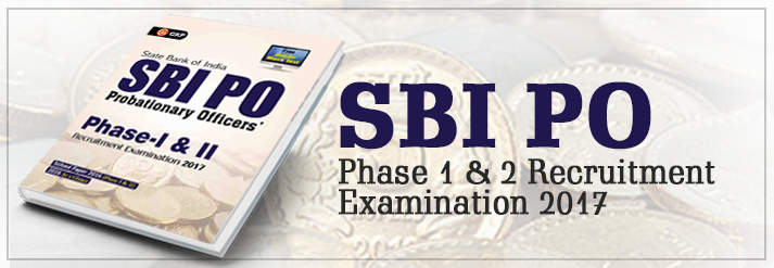 Sbi Po Phase 1 & 2 Recruitment Examination 2017