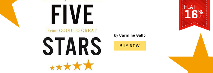 FIVE STARS : THE COMMUNICATION SECRETS TO GET FROM GOOD TO GREAT