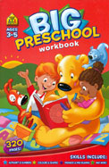 Big Preschool Workbook Ages 3-5