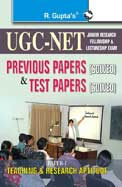 Cbse Ugc Net Teaching & Research Aptitude          Previous Years Papers & Test Papers Solved Wit