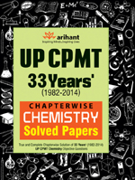 UP CPMT 33 Years Chapterwise Chemistry Solved Papers