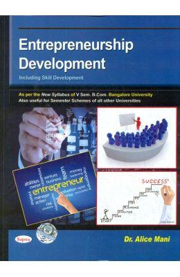Entrepreneurship Development For 5th Sem Bcom Bu