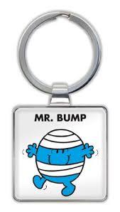 Mr. Bump Keyring