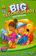 Big Second Grade Workbook Ages 7-8