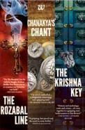 Ashwin Sanghi Box Set : Rozabal Line, Chanakyas Chant, Krishna Key