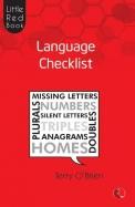 Language Checklist : Little Red Book