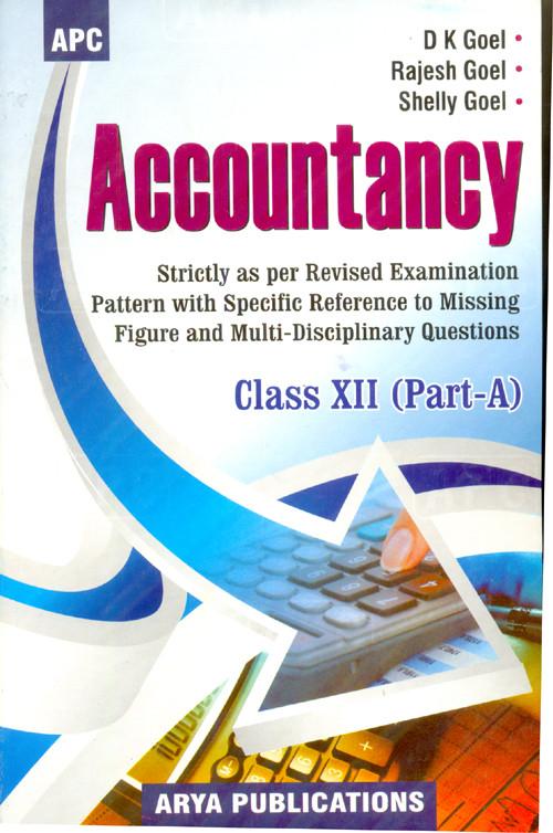 Accountancy Class 12 Part A : Cbse