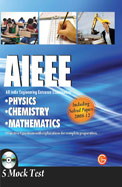 Aieee - All India Engineering Entrance Exam -     Physics Chemistry Mathematics W/Cd
