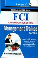 Popular Master Guide Fci Management Trainee Paper 1 Recruitment Exam : Code R 1626