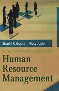 Human Resource Management Bbm/Bba 3 Sem : Bu