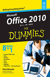Ms Office 2010 All In One For Dummies
