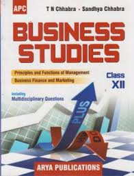 Business Studies Class 12 : Cbse