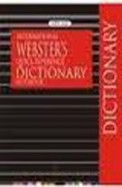 International Websters Quick Reference Dictionary Notebook