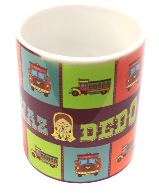 Store67 Mug - Indian Truck
