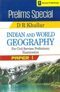 Prelims Special Indian & World Geography For Civilservices Preliminary Examination Paper 1