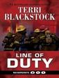 Line Of Duty (Thorndike Press Large Print Christian Mystery)
