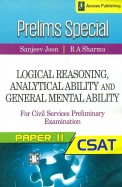 Prelims Special Logical Reasoning Analytical       Ability & General Mental Ability For Civil